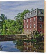Kingston Mill Near Princeton New Jersey Wood Print