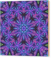 Kinnersley Vine Mandala Wood Print