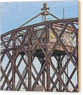 Kinnickinnic River Swing Bridge  4 Wood Print