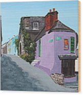 Kinsale Corner Shop Wood Print