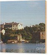 Kinsale Waterfront Wood Print