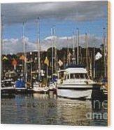 Kinsale Yacht Club Wood Print
