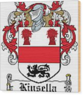 Kinsella Coat Of Arms Irish Wood Print