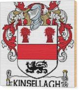 Kinsellagh Coat Of Arms II Irish Wood Print