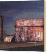 Kipling Barn Wood Print