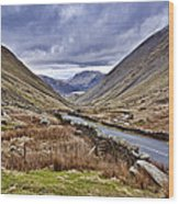 Kirkstone Pass View Wood Print
