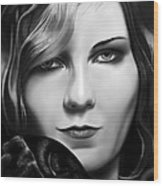 Kirsten Dunst Wood Print