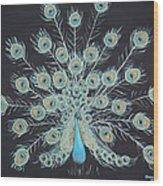 Kirsten's Peacock Wood Print