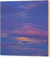 Kiss The Sky Wood Print