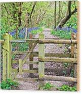 Kissing Gate Wood Print
