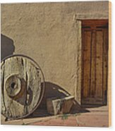 Kit Carson Home Taos New Mexico Wood Print