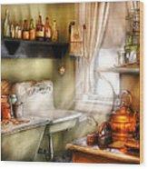 Kitchen - Momma's Kitchen  Wood Print