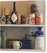 Kitchen Pantry Wood Print