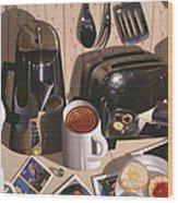 Kitchen Table No.1 1994   Skewed Perspective Series 1991 - 2000 Wood Print