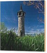 Kitchener's Pioneer Tower Wood Print
