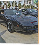 Kitt Wood Print by Tommy Anderson