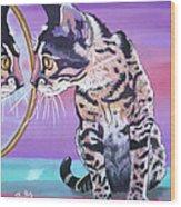 Kitten Image Wood Print