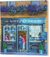 Kitty's In Kinsale Ireland Wood Print