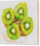 Kiwi 2 Wood Print