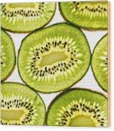 Kiwi Fruit IIi Wood Print