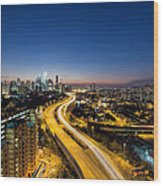 Kl At Blue Hour Wood Print