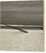 Klamath River Mouth - A Bliss Place Wood Print
