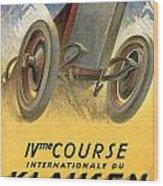 Klausen Automobile Wood Print