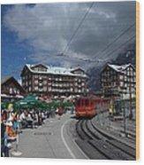 Kleine Schedegg Switzerland Wood Print