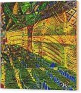 Klimt Covetous Wood Print