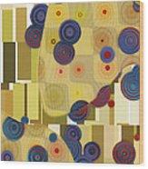 Klimtolli - 22 Wood Print