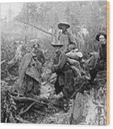 Klondike Gold Rush Miners  1897 Wood Print