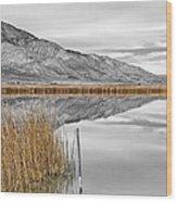 Klondike In Fall Wood Print