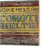 Klondike Mines Railway Wood Print