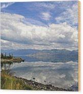 Kluane Reflections Wood Print