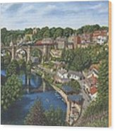 Knaresborough Yorkshire Wood Print