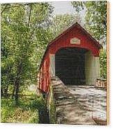 Knecht's Covered Bridge Wood Print