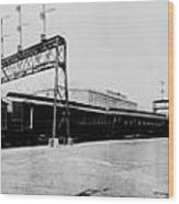 Knickerbocker Special Leaving St. Louis Union Station Wood Print by Georgia Fowler