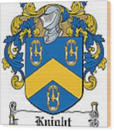 Knight Coat Of Arms Dublin Wood Print