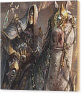 Knight Of Obligation Wood Print