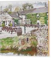Knitsley Mill 5 Wood Print