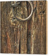 Knock On Wood Wood Print