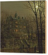 Knostrop Old Hall, Leeds, 1883 Wood Print