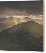 Knott Rigg Last Light Wood Print