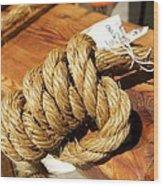 Knotted Hemp Wood Print
