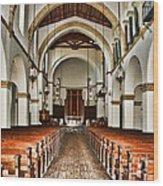 Knowles Memorial Chapel Rollins College 2 By Diana Sainz Wood Print