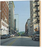 Knoxville Wood Print