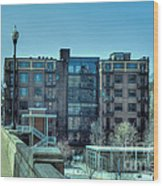 Knoxville Upscale Apartment Building Wood Print