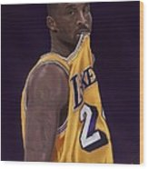 Kobe Bean Bryant Wood Print by Jeremy Nash