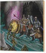 Kobold Entry Cavern Wood Print