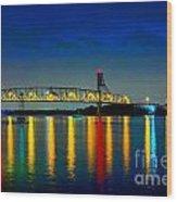 Kodachrome Bridge Wood Print
